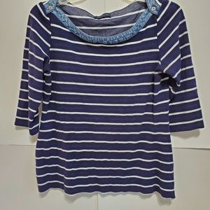 Tommy Hilfiger 3/4th sleeves top sz Large
